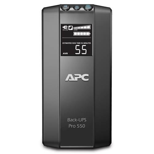 ИБП APC Back-UPS Pro BR550GI-W3Y черный - фото 3