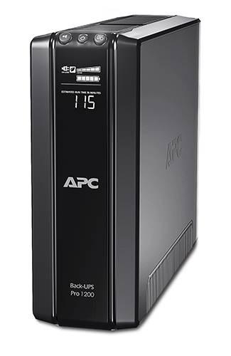 ИБП APC Back-UPS Pro BR1200G-RS-W3Y черный - фото 1