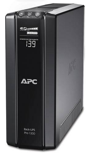ИБП APC Back-UPS Pro BR1500GI-W3Y черный - фото 1