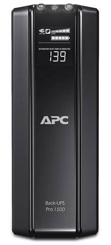ИБП APC Back-UPS Pro BR1500GI-W3Y черный - фото 2