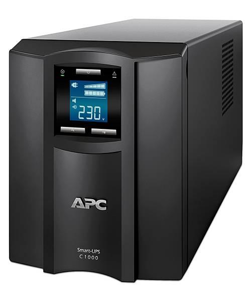 ИБП APC Smart-UPS C SMC1000I-W3Y черный - фото 1