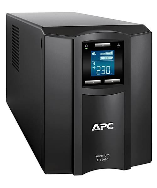 ИБП APC Smart-UPS C SMC1000I-W3Y черный - фото 2