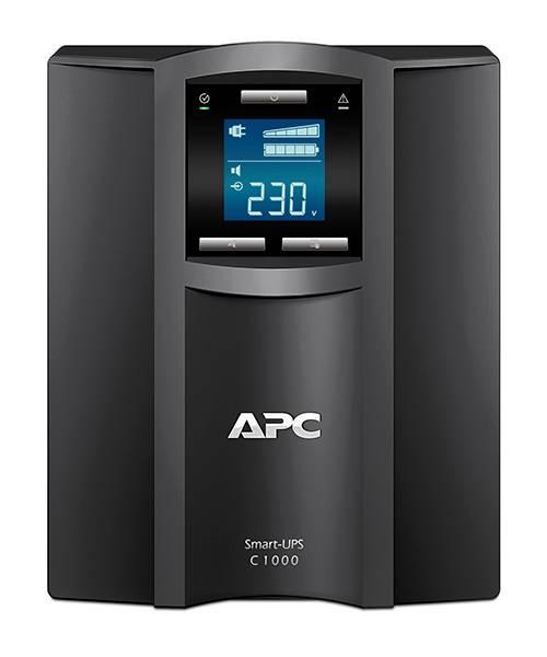 ИБП APC Smart-UPS C SMC1000I-W3Y черный - фото 3