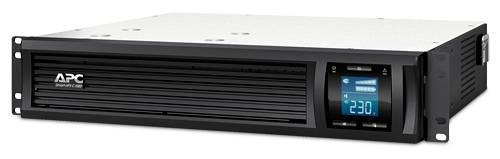 ИБП APC Smart-UPS C SMC1000I-2U-W3Y черный - фото 1