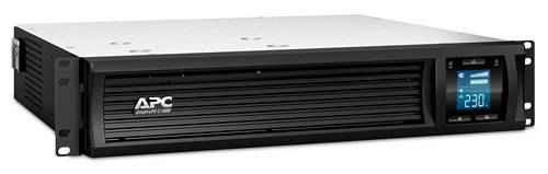 ИБП APC Smart-UPS C SMC1000I-2U-W3Y черный - фото 2