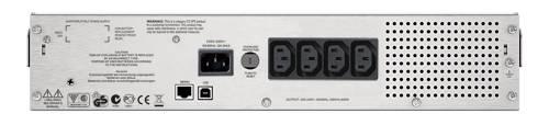 ИБП APC Smart-UPS C SMC1000I-2U-W3Y черный - фото 4