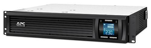 ИБП APC Smart-UPS C SMC1500I-2U-W3Y черный - фото 1