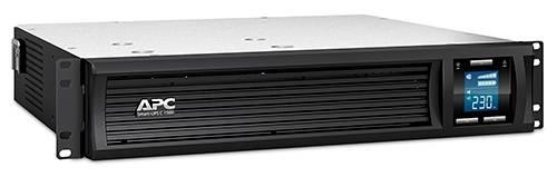 ИБП APC Smart-UPS C SMC1500I-2U-W3Y черный - фото 2