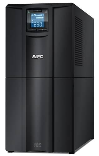 ИБП APC Smart-UPS C SMC3000I-W3Y черный - фото 1