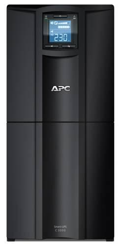 ИБП APC Smart-UPS C SMC3000I-W3Y черный - фото 3