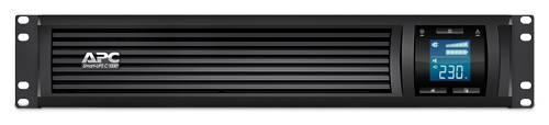 ИБП APC Smart-UPS C SMC1000I-2U-W5Y черный - фото 3