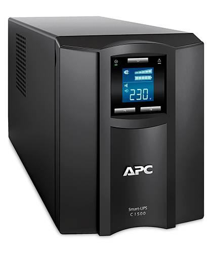 ИБП APC Smart-UPS C SMC1500I-W5Y черный - фото 2