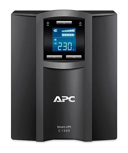 ИБП APC Smart-UPS C SMC1500I-W5Y черный - фото 3