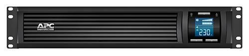 ИБП APC Smart-UPS C SMC1500I-2U-W5Y черный - фото 3