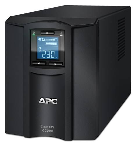 ИБП APC Smart-UPS C SMC2000I-W5Y черный - фото 1