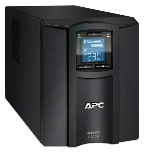 ИБП APC Smart-UPS C SMC2000I-W5Y черный - фото 2