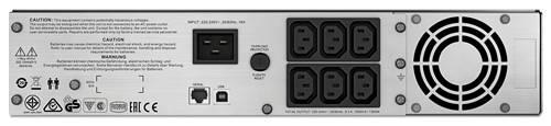 ИБП APC Smart-UPS C SMC2000I-2U-W5Y черный - фото 4