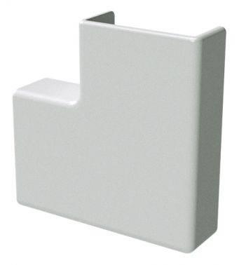 Угол DKC плоский APM 25x17 1шт 00415 белый