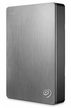 Внешний жесткий диск 4Tb Seagate STDR4000900 Backup Plus серебристый USB 3.0