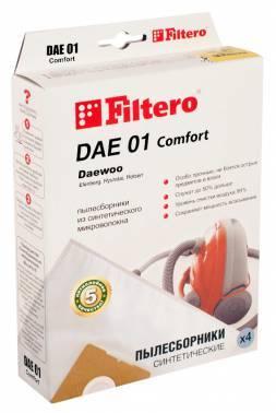 Пылесборники Filtero DAE 01 Comfort