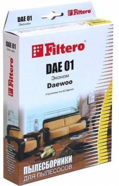 Пылесборники Filtero DAE 01 Эконом