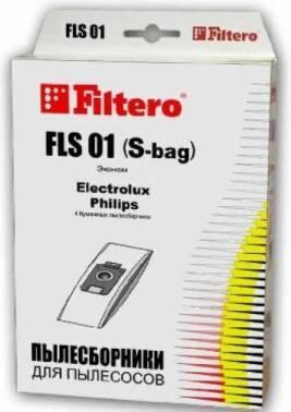 Пылесборники Filtero FLS 01 Эконом