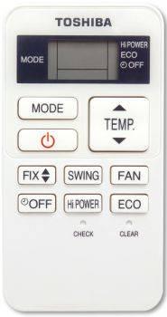 Сплит-система Toshiba RAS-10EKV-EE/RAS-10EAV-EE белый - фото 3
