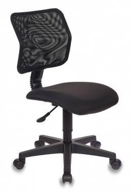 Кресло Бюрократ CH-295/15-21 спинка сетка, цвет обивки: черный 15-21, ткань, крестовина пластиковая