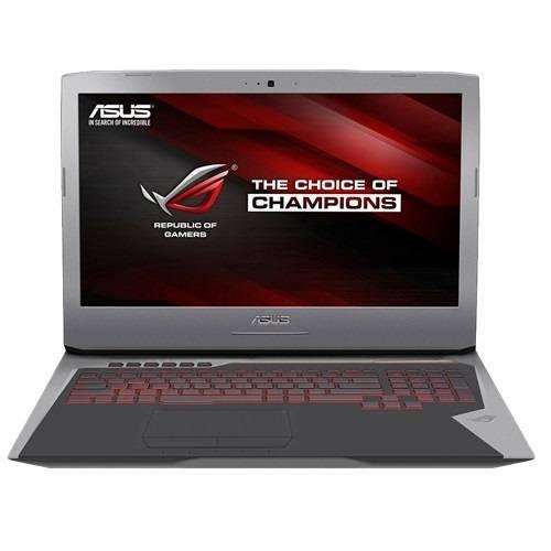 """Ноутбук 17.3"""" Asus G752VT-GC126T серебристый - фото 1"""