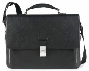 Портфель Piquadro Modus черный, кожа натуральная (CA3111MO/N)