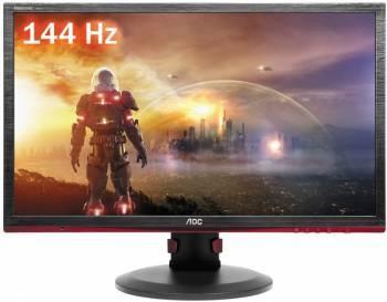 Монитор 24 AOC G2460PF черный / красный