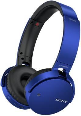 Гарнитура Sony MDRXB650BTL.E синий - фото 1