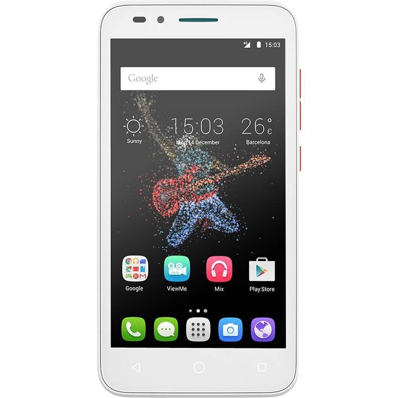 Смартфон Alcatel Go Play 7048X 8ГБ белый/оранжевый - фото 1