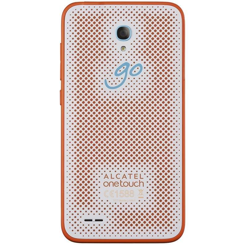 Смартфон Alcatel Go Play 7048X 8ГБ белый/оранжевый - фото 2