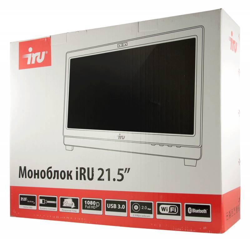 "Моноблок 21.5"" IRU Office K2102 белый - фото 10"
