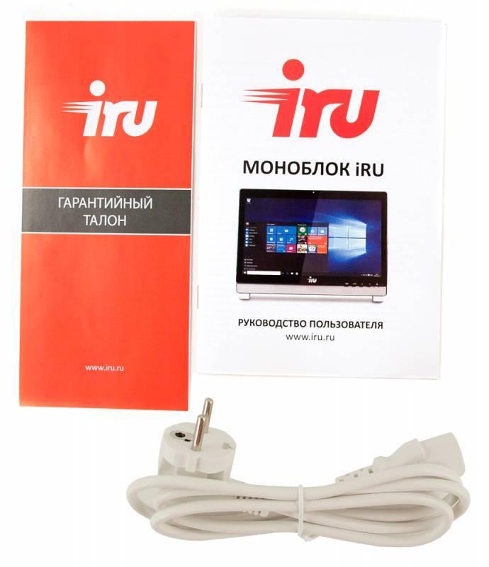 "Моноблок 21.5"" IRU Office K2102 белый - фото 9"