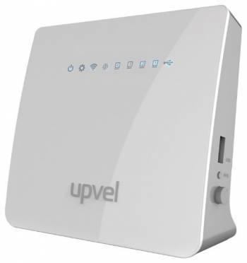 Беспроводной роутер Upvel UR-329BNU + ПОДАРОК ESET NOD32 5 ПК 3 мес (UR-329BNU_CITILINK) белый