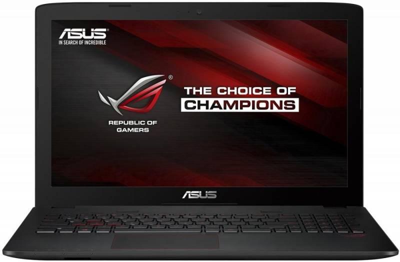 """Ноутбук 15.6"""" Asus GL552VW-FI476T черный - фото 1"""
