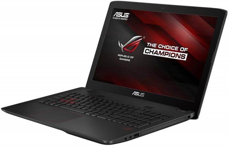 """Ноутбук 15.6"""" Asus GL552VW-FI476T черный - фото 2"""