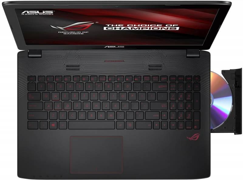 """Ноутбук 15.6"""" Asus GL552VW-FI476T черный - фото 4"""