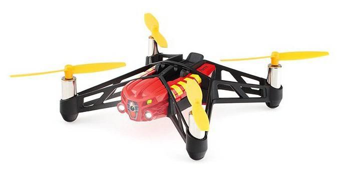 Квадрокоптер PARROT MiniDrone Airborne Night Blaze черный/оранжевый - фото 2