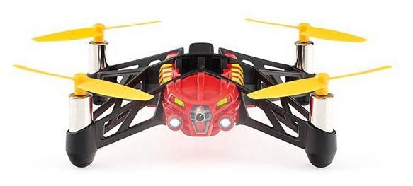 Квадрокоптер PARROT MiniDrone Airborne Night Blaze черный/оранжевый - фото 3