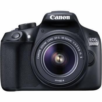 Фотоаппарат Canon EOS 1300D KIT 1 объектив черный