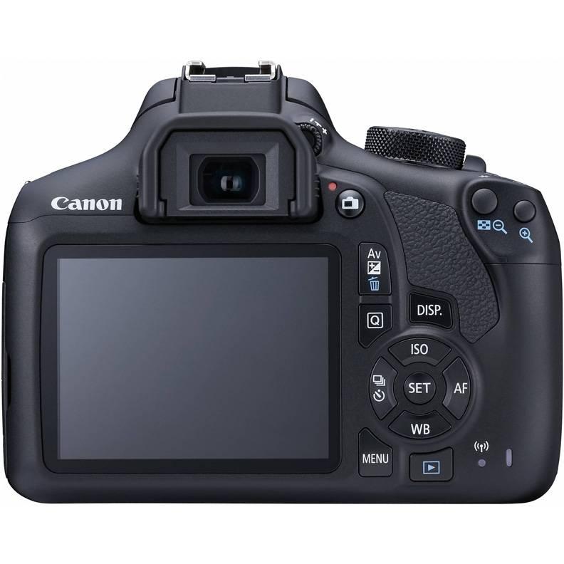 Фотоаппарат Canon EOS 1300D KIT черный, 1 объектив 18-55mm f/3.5-5.6 IS II - фото 2