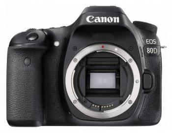 Фотоаппарат Canon EOS 80D черный, Body