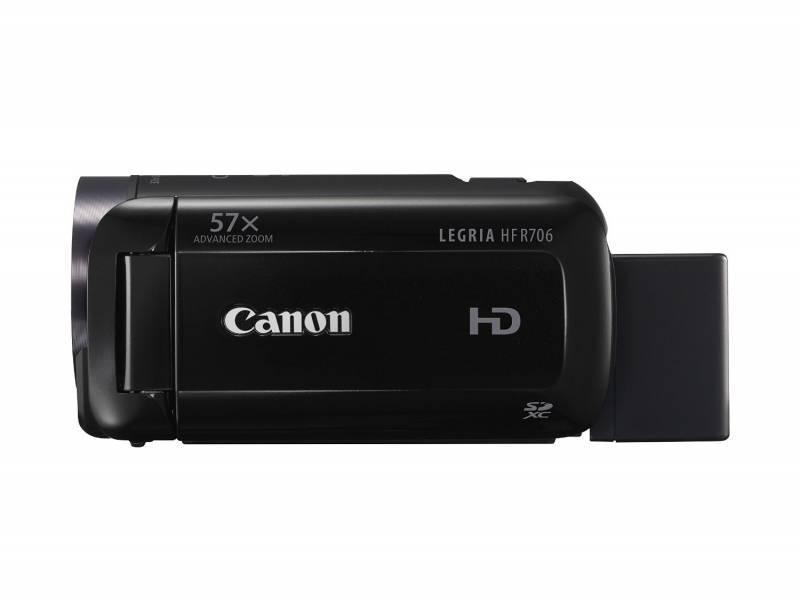 Видеокамера Canon Legria HF R706 черный - фото 1