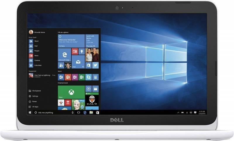 "Ноутбук 11.6"" Dell Inspiron 3162 белый - фото 1"