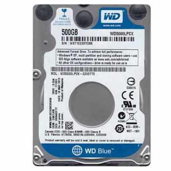 Жесткий диск 500Gb WD Blue WD5000LPCX SATA-III