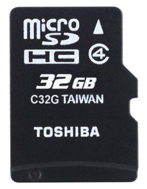 Карта памяти microSDHC 32Gb Class4 Toshiba M102 THN-M102K0320M2