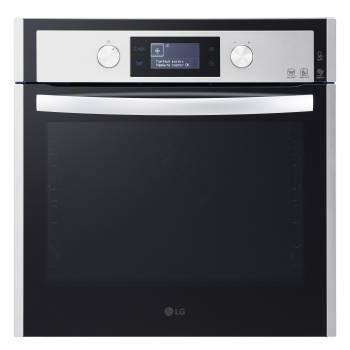 Духовой шкаф электрический LG LB645479T1 стекло черное
